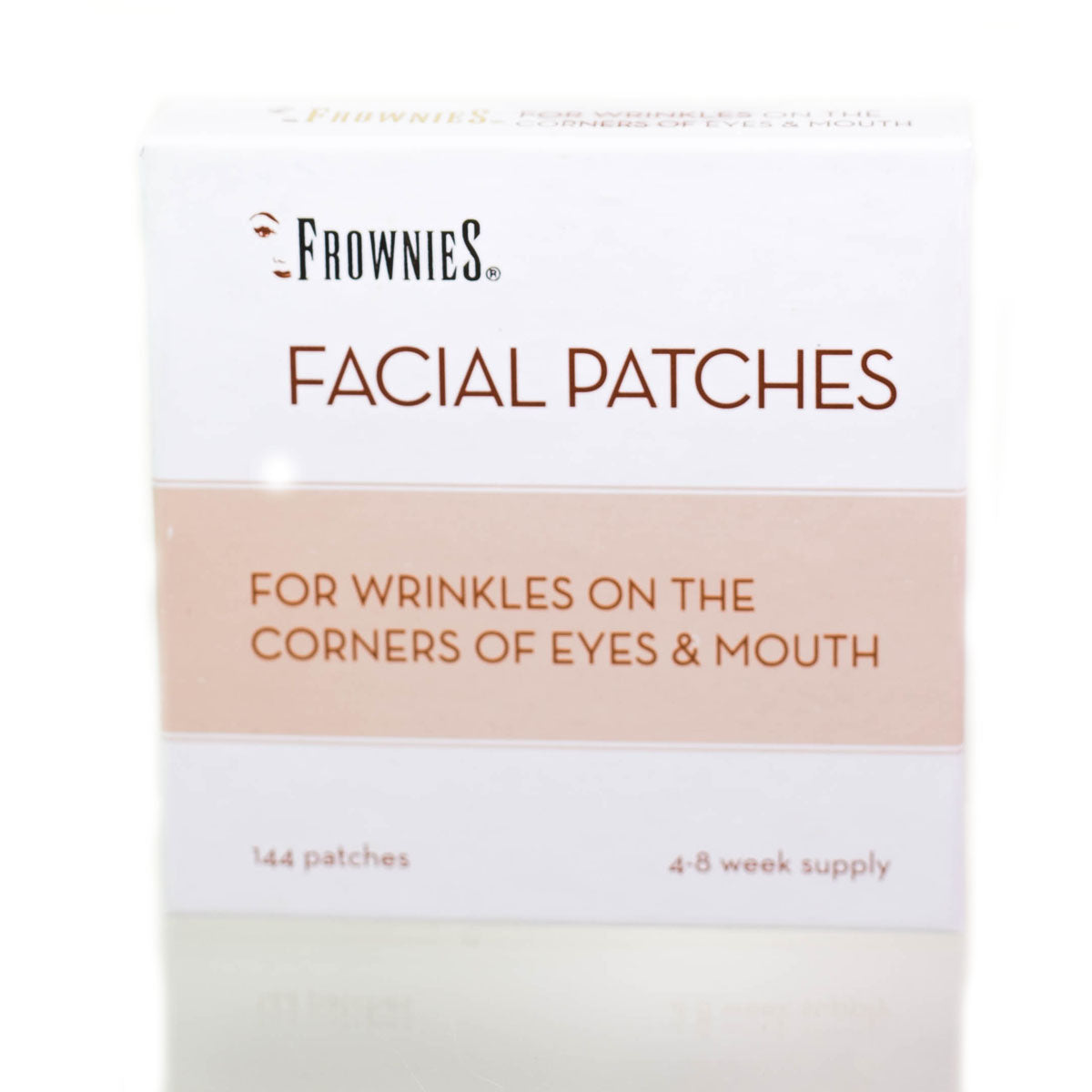 Frownies Facial Patches for Corner of Eyes & Mouth 144 Pieces per Box