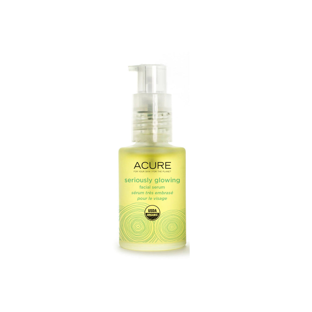 Acure Seriously Glowing Facial Serum  1oz 30ml