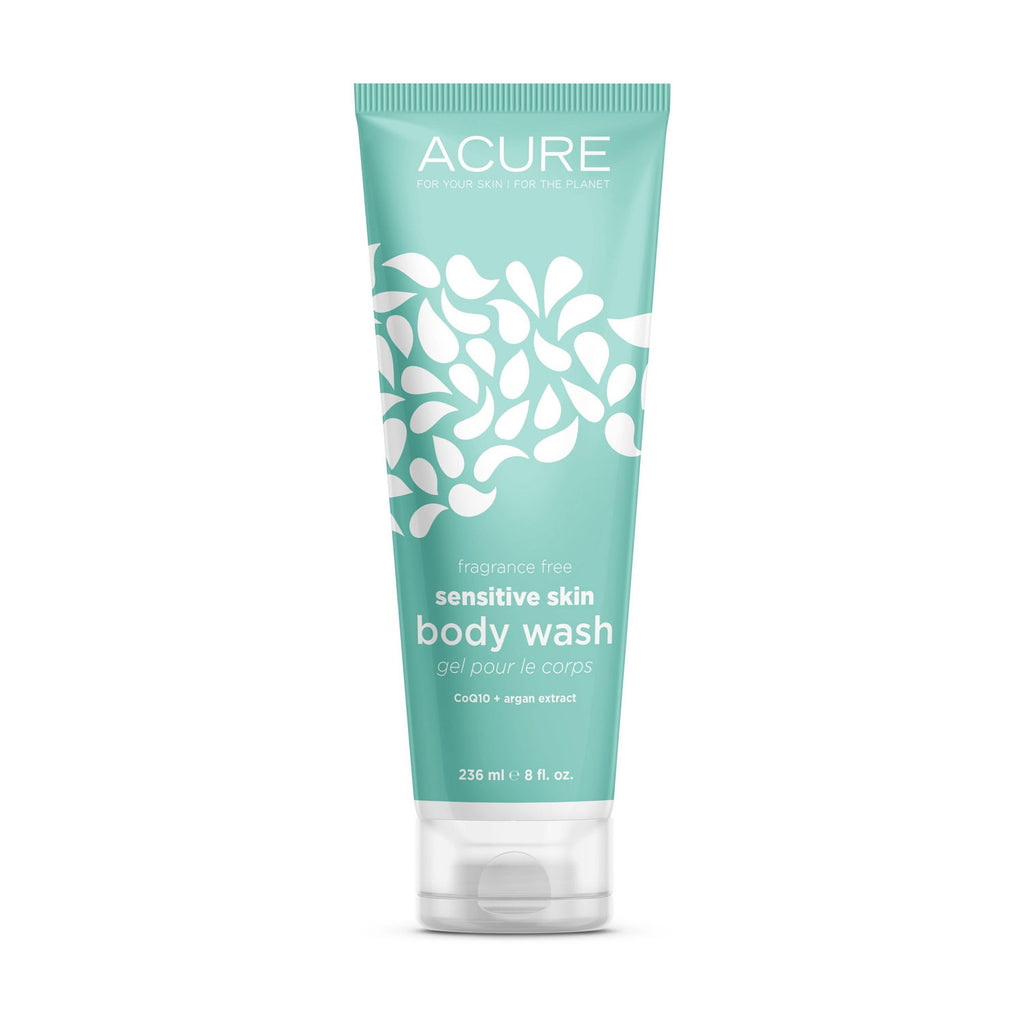 Acure Sensitive Skin Body Wash - CoQ10  8oz 236ml
