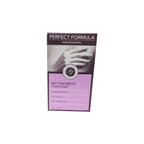 Perfect Formula My Favorite Top Coat, 0.6oz