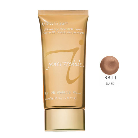 Jane Iredale Glow Time Mineral BB Cream - BB11  Dark   1.7 oz..