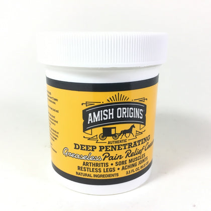 Amish Origins Deep Penetrating Pain Relief Cream 3.5 OUNCE