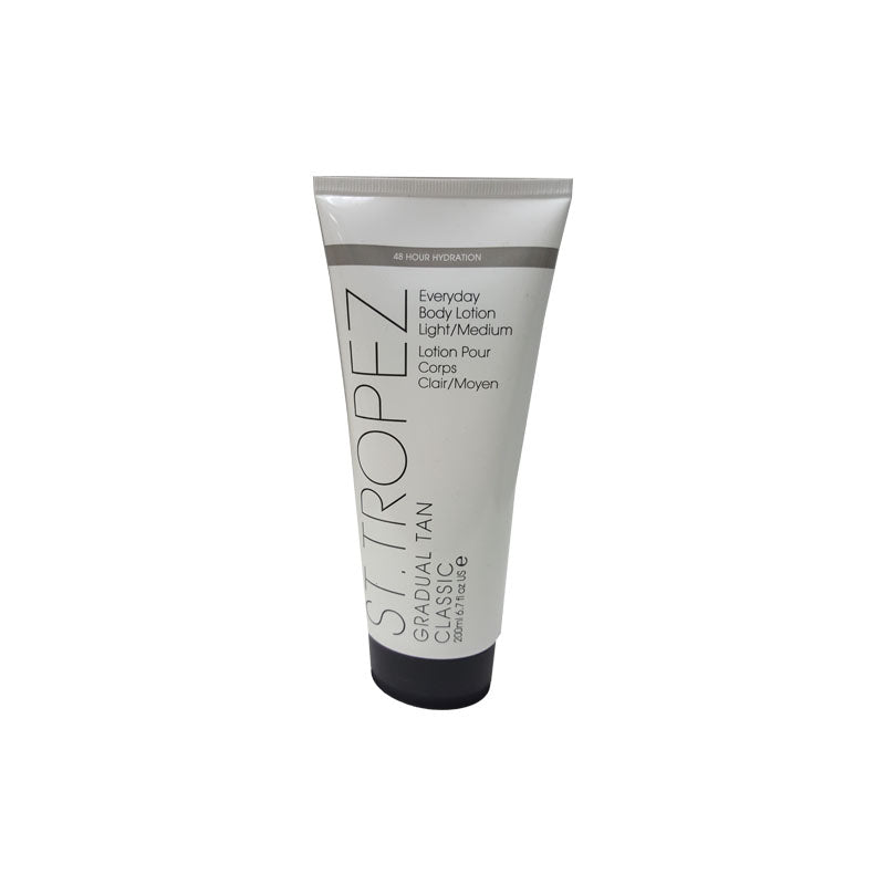 St Tropez Gradual Tan Moisturiser-Light Med   6.7 fl oz   200 ml