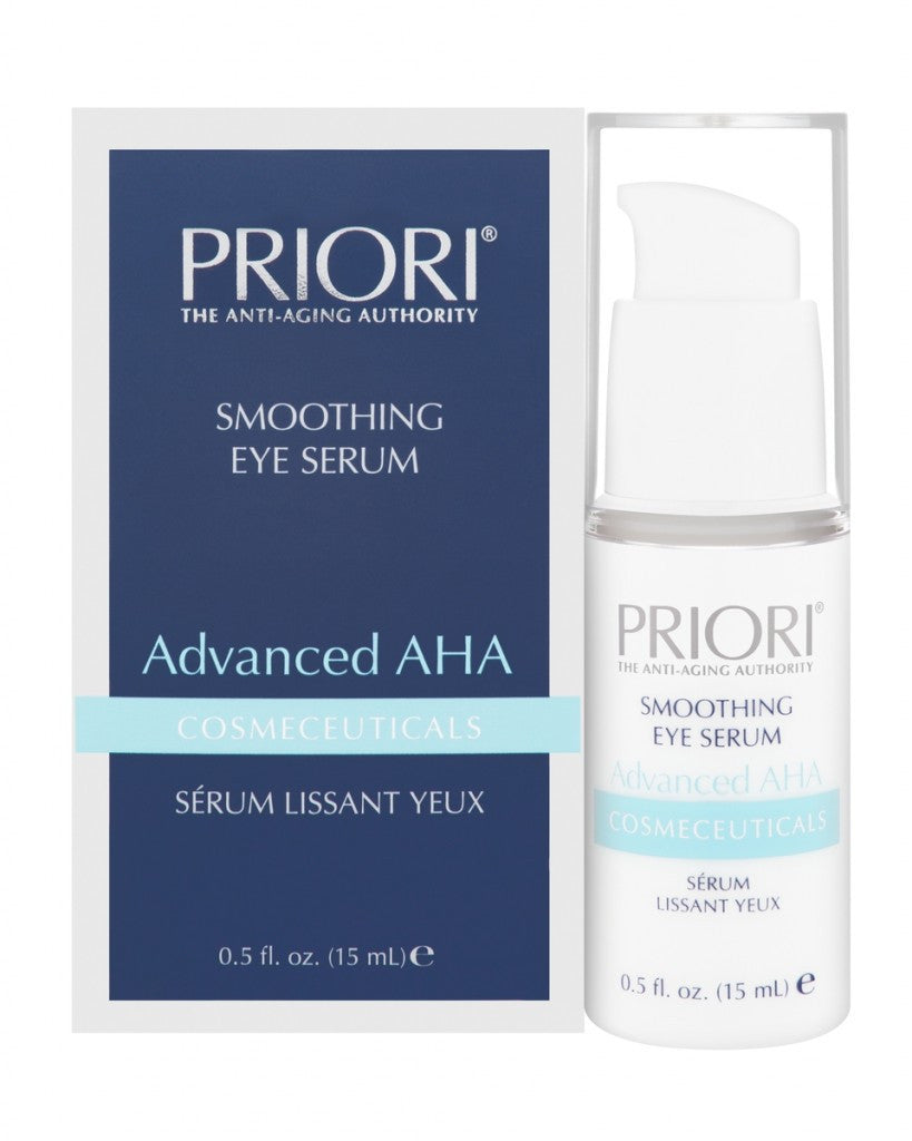 Priori Advanced AHA Smoothing Eye Serum, .5oz (15mL)