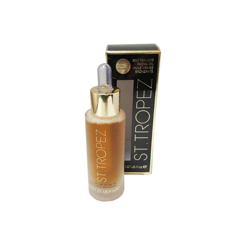 St Tropez Self Tan Luxe Dry Facial Oil, 30 ml