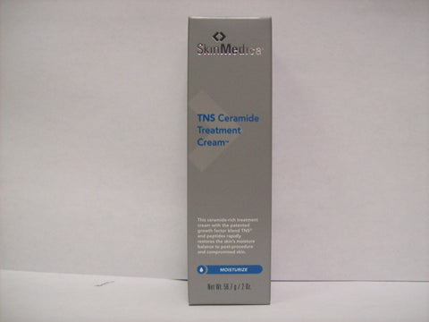 SkinMedica TNS Ceramide Treatment Cream Moisturizer  2 oz