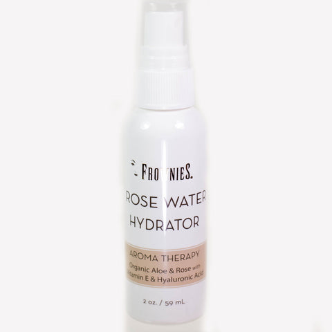 Frownies Rosewater Hydrating Spray 2oz. Bottle  59 ml.
