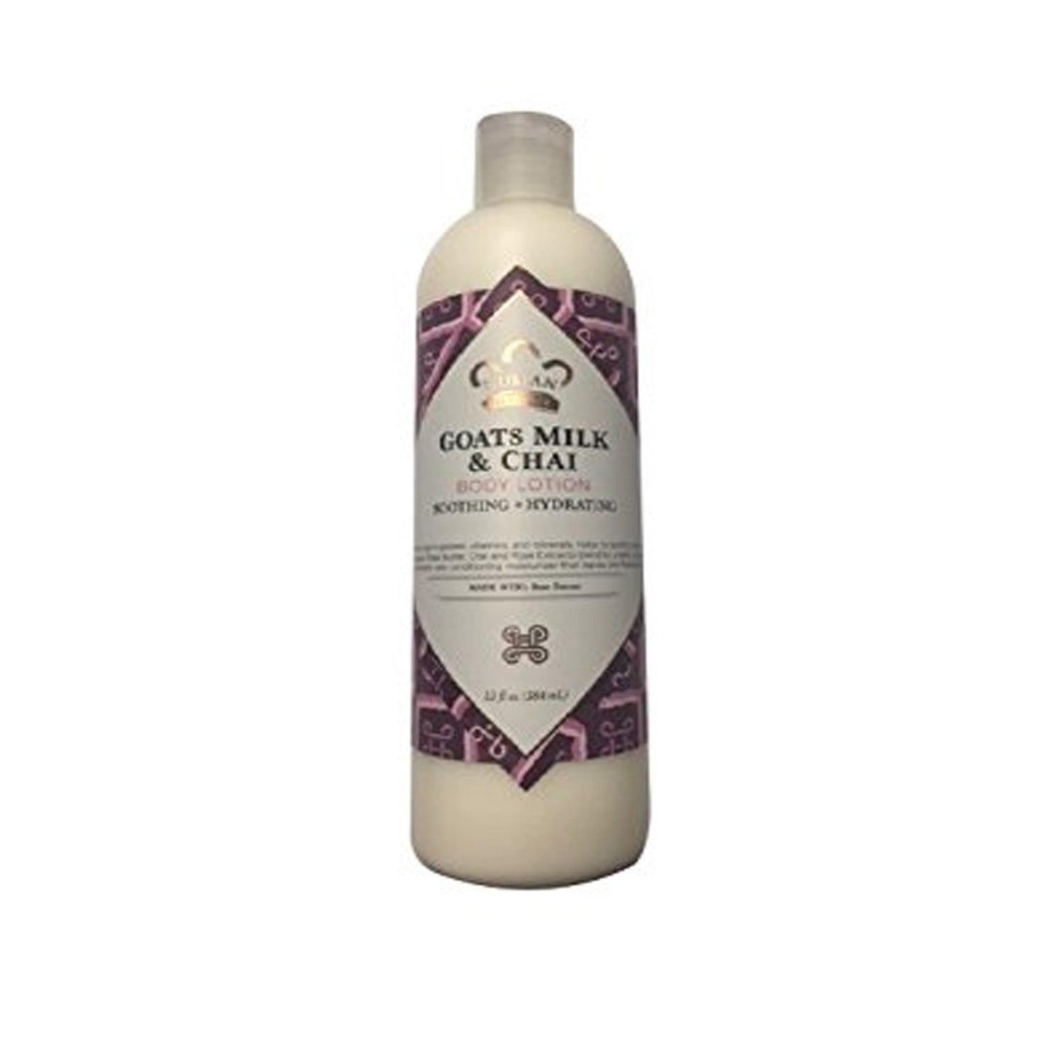 Nubian Heritage Body Lotion Goat's Milk And Chai 13 Oz