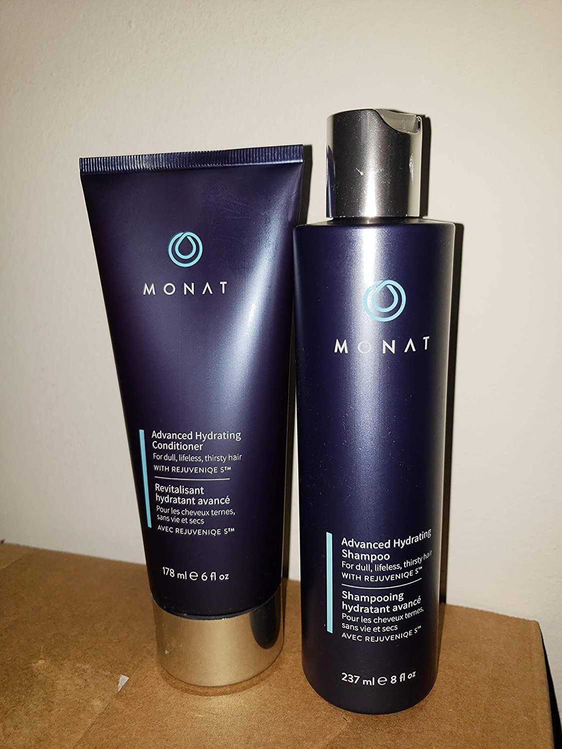 Monat Advanced Hydrating Conditioner and Shampoo, NEW