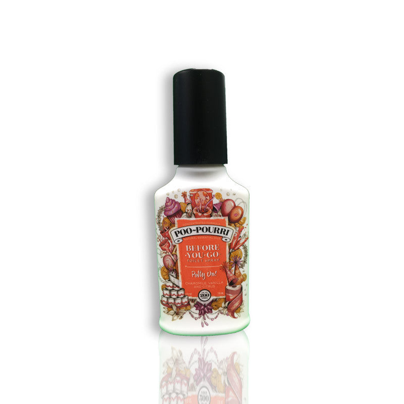 Poo-Pourri Before-You-Go Toilet Spray, Chamomile,Vanilla And Citrus, 4oz/118ml