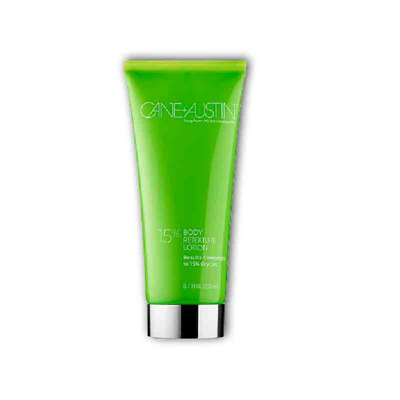Cane + Austin Retexturizing Treatment Lotion /15% Glycolic Body , 6.7oz
