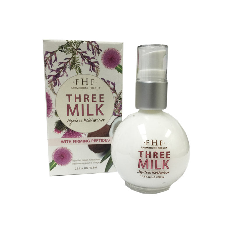 Farmhouse Fresh Three Milk Ageless Moisturizer -  2.5oz 73.9ml
