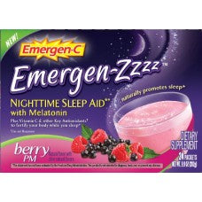 Emergen-Zzzz Berry Pm 24ct