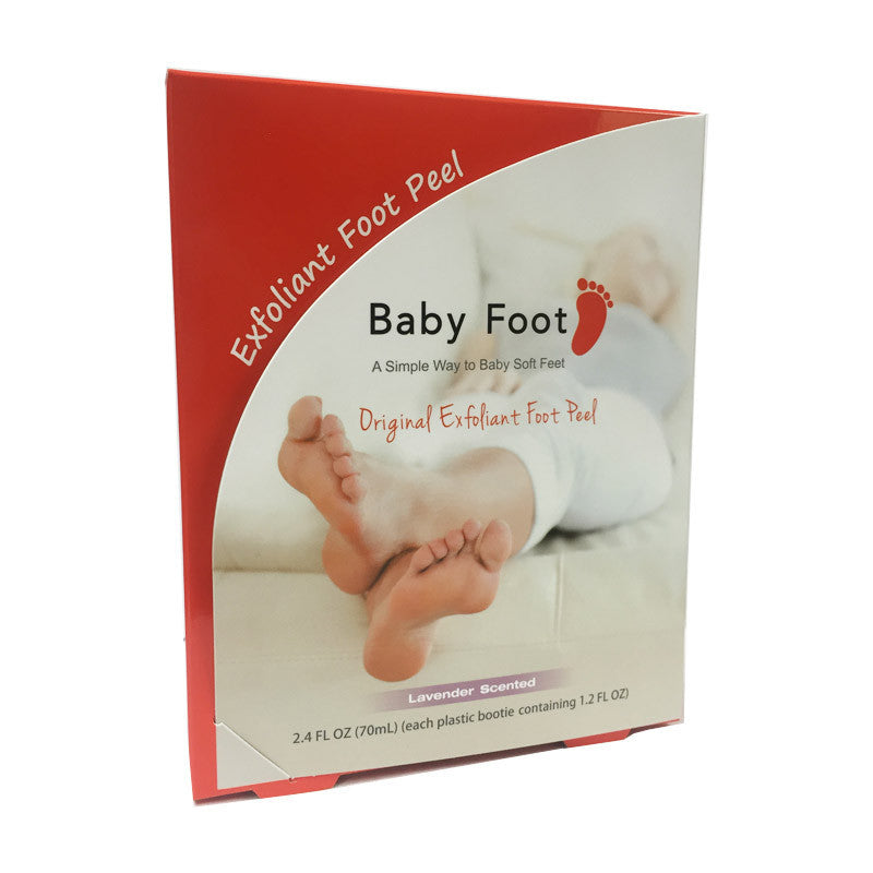 Baby Foot Original Foot Peel package 2.4oz 70ml