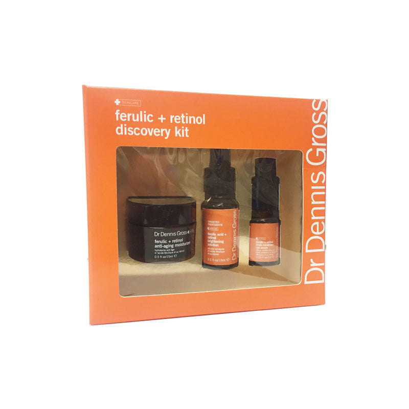 Dr. Dennis Gross Ferulic Plus Retinol Discovery Kit 3pc