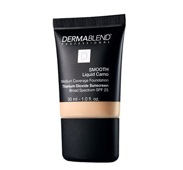 Dermablend Smooth Liquid Camo Foundation, Chestnut (1oz/30ml)