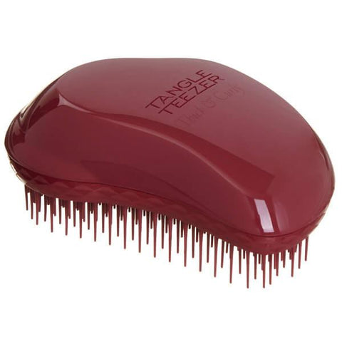 Thick and Curly Detangling Hairbrush-Dark Red