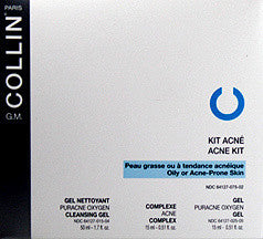 G.M. Collin PURACNE Acne Kit - Oxygen Cleansing Gel