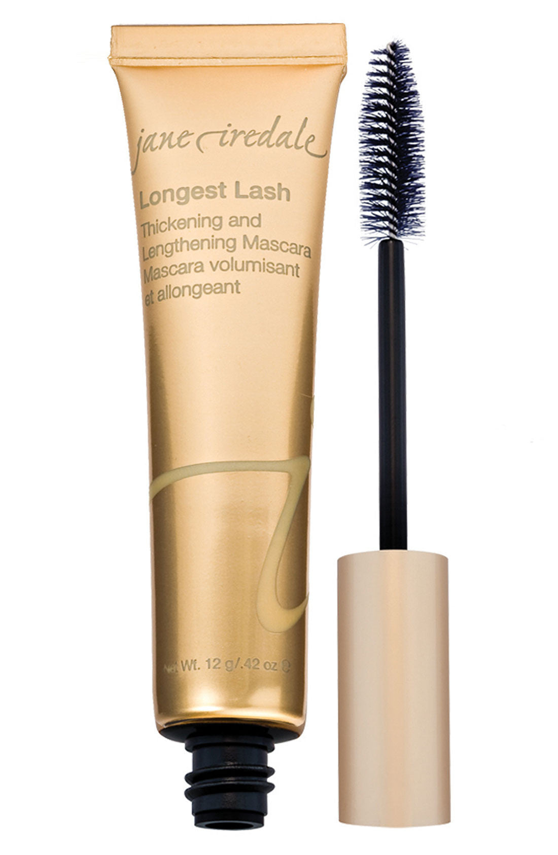Jane Iredale Longest Lash Mascara - Black Ice, .42 oz