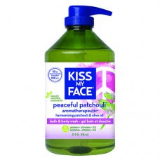 Kiss My Face Body Wash Peaceful Patchouli 32oz