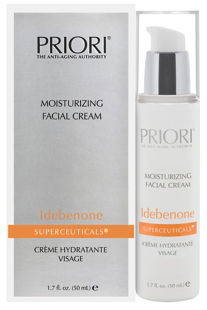 Priori Idebenone Superceuticals Moisturizing Facial Cream, 1.7oz (50mL)