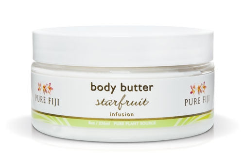 Pure Fiji Body Butter Starfruit 8oz 236ml
