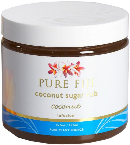 Pure Fiji Sugar Rub Coconut 15.5oz 457ml