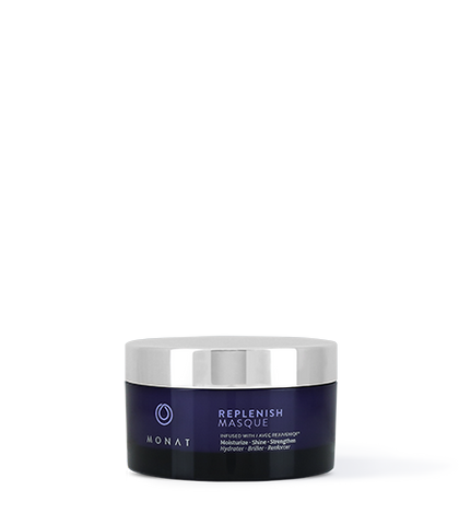 Monat Replenish Masque - Helps increase hair brilliance, strength and vitality. Infused with REJUVENIQE