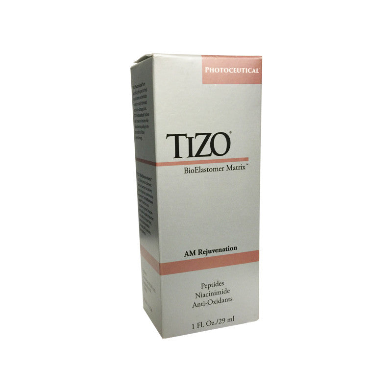 TIZO AM Rejuvenation Peptides Niacinimide Anti Oxidants 1oz 29ml