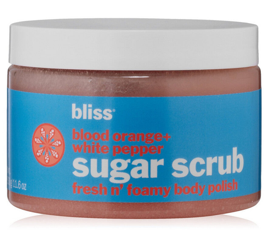 Bliss Sugar Scrub Blood Orange + White Pepper 11.6oz 330g