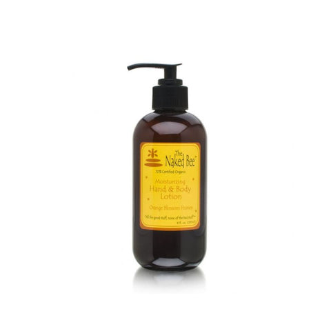 The Naked Bee Orange Blossom Honey 8oz Hand and Body Lotion
