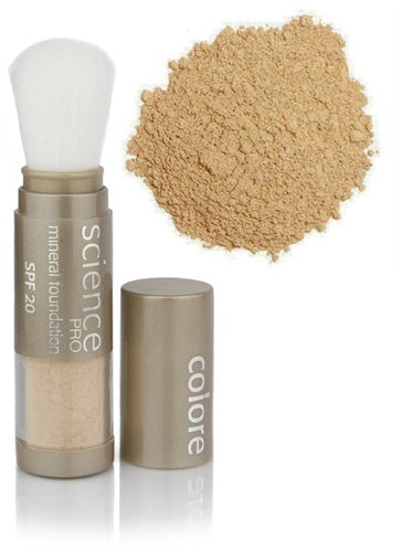 Colorescience Loose Mineral Foundation Brush SPF20 Girl from Ipanema