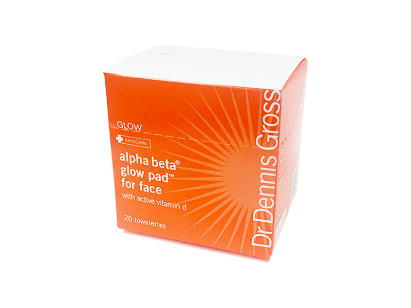 Dr Dennis Gross Alpha Beta Glow Pad for Face 20 Packet