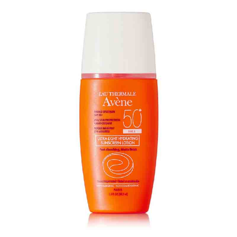 Avene Ultra Light Hydrating Sunscreen Face Lotion SPF 50 1.3oz 38.5ml