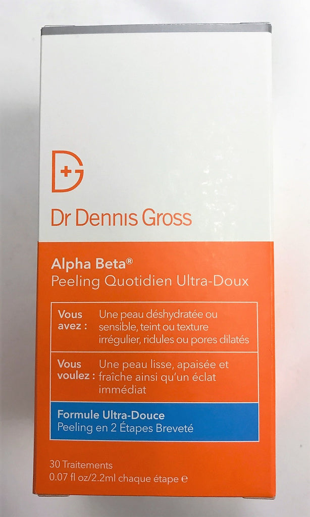 Dr Dennis Gross Alpha Beta Ultra Gentle Daily Peel 2-step 30 Treatments