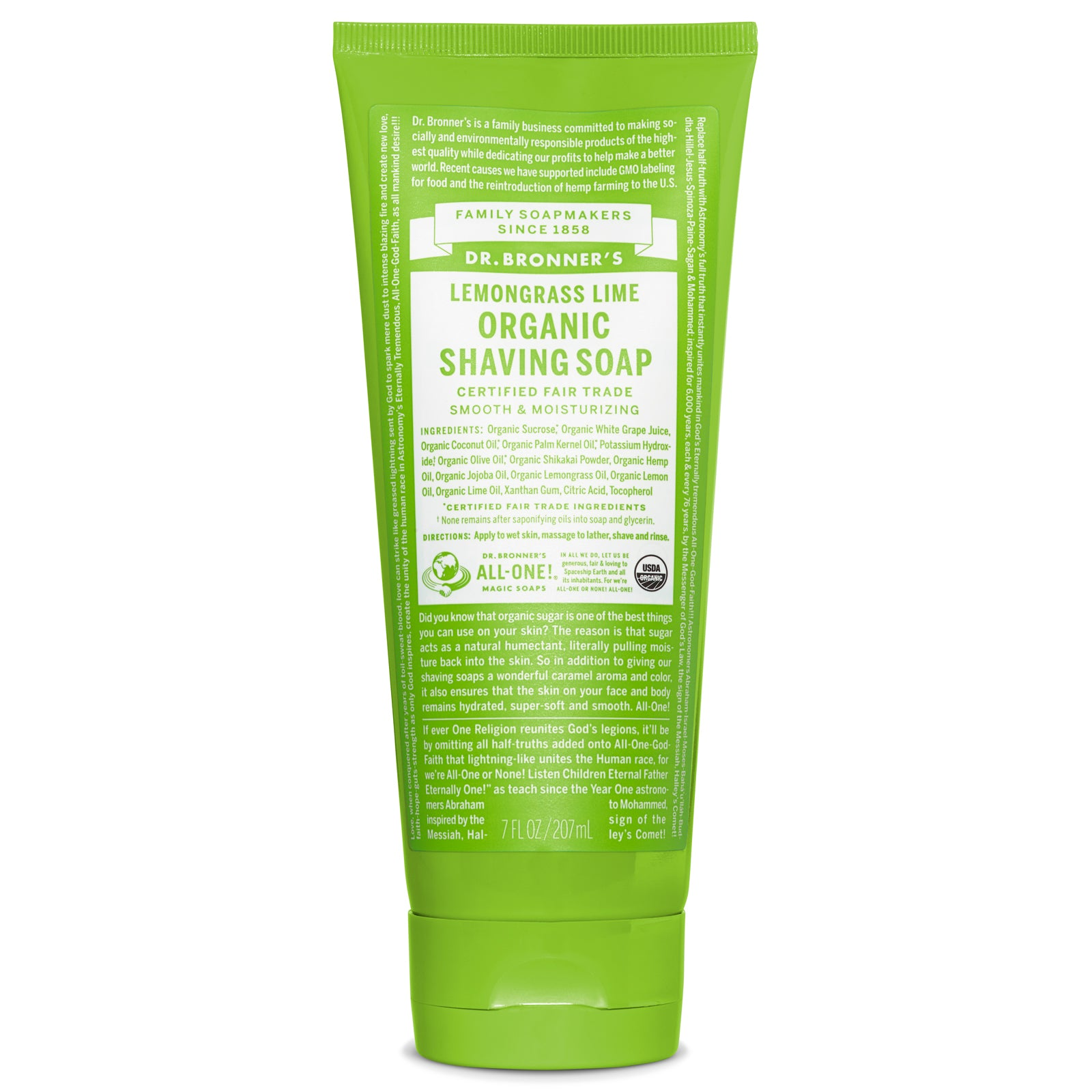 Shaving Gel Lemongrass Lime 7 oz