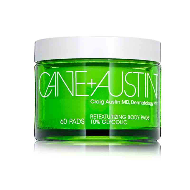 Cane & Austin Retexturing Treatment Body Pads - 10% Glycolic (60-count)