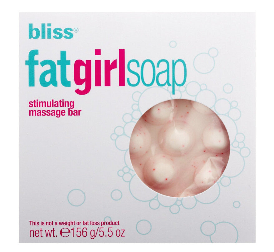 Bliss Fat Girl Soap Massage Bar 5.5oz 156g