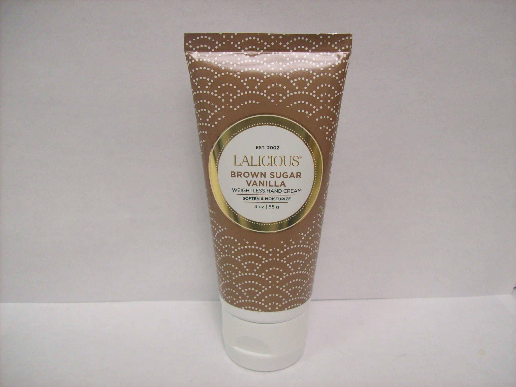 LaLicious Brown Sugar Vanilla Weightless Hand Cream 3oz