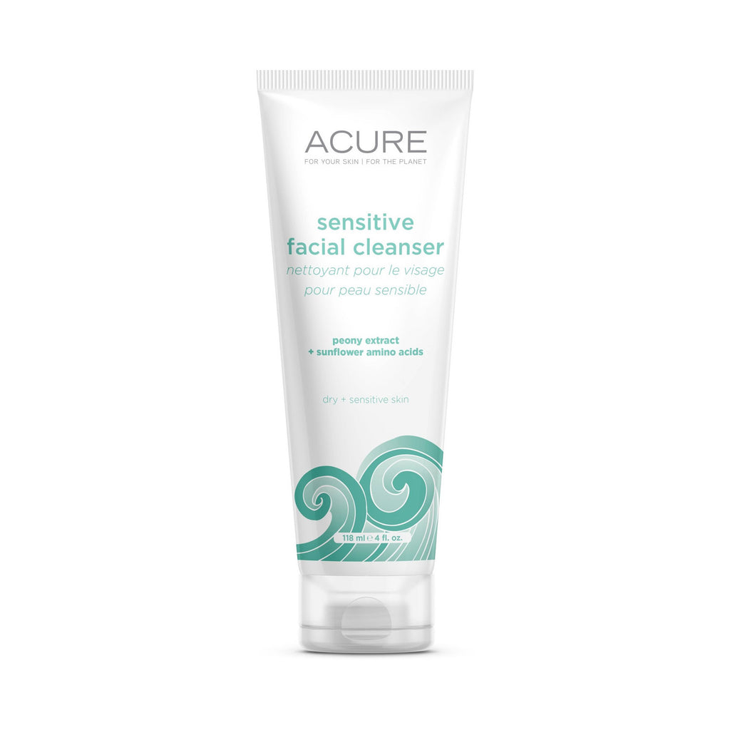 Acure Sensitive Facial Cleanser 4oz 118ml