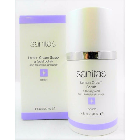 Sanitas Lemon Cream Scrub 120 mL