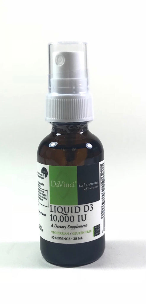DaVinci Vitamin D3 10,000 Liquid 1.01 oz