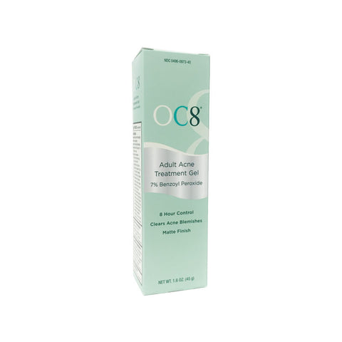 OC8 Adult Acne Treatment Gel 1.6oz 45 g