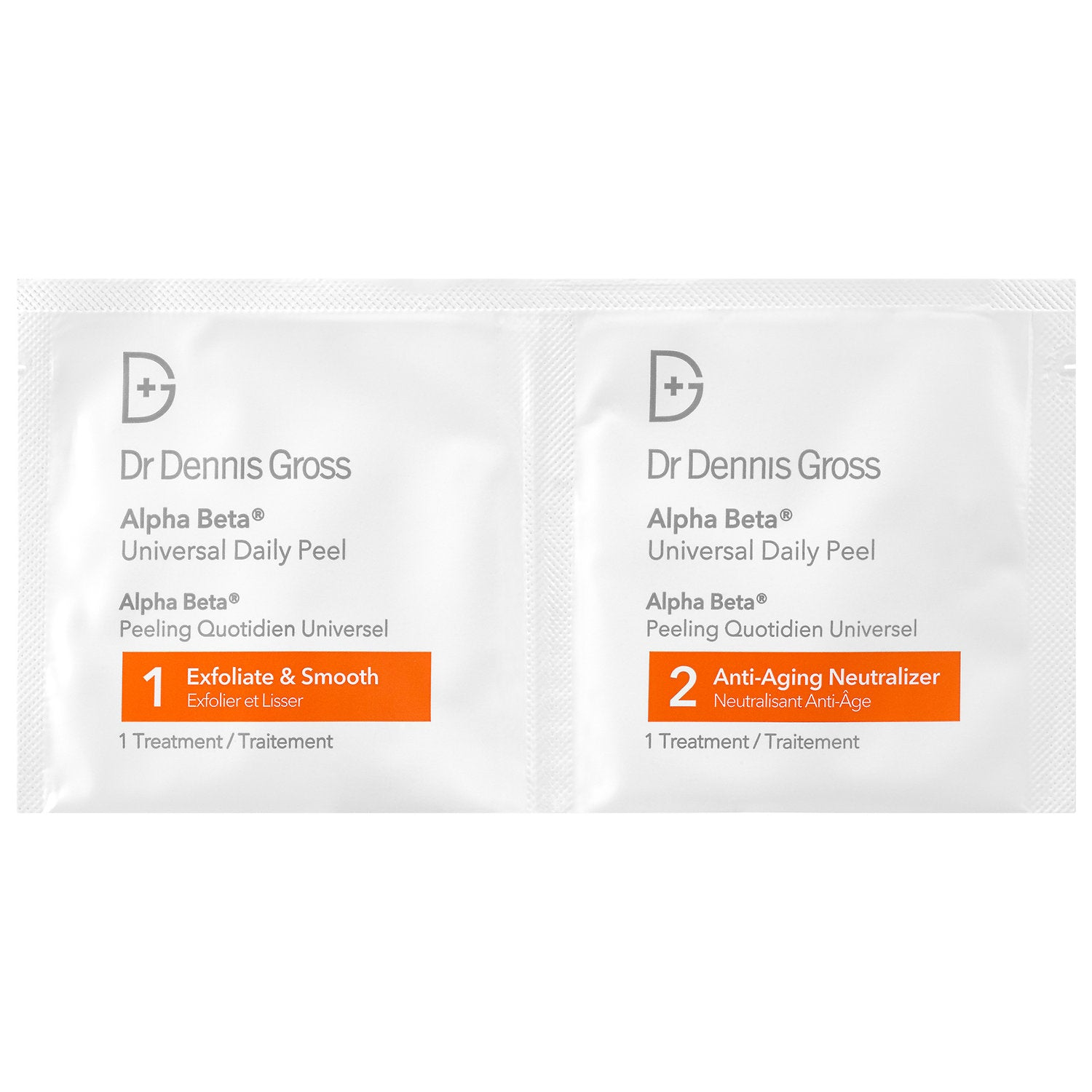 Dr. Dennis Gross Alpha Beta Universal Daily Peel 2 Step 30 Treatments