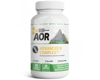 Advanced B Complex 90 Vegan Capsules