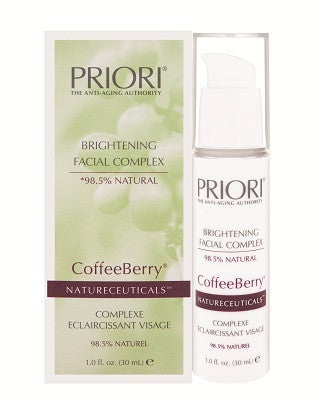Priori Coffee Berry Natureceuticals Brightening Facial Complex