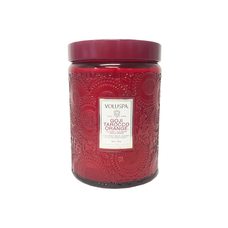 Voluspa Japonica Jar Goji & Tarocco Orange 16oz 453 g