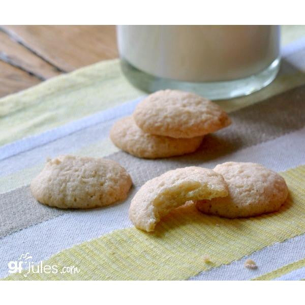 Gluten free vanilla wafers made with gfJules all purpose gluten free flour