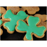 Gluten free shamrock made using gfJules gluten free graham cracker - gingerbread mix
