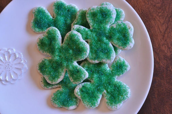 gfJules gluten free cut out sugar cookie mix shamrock cookies